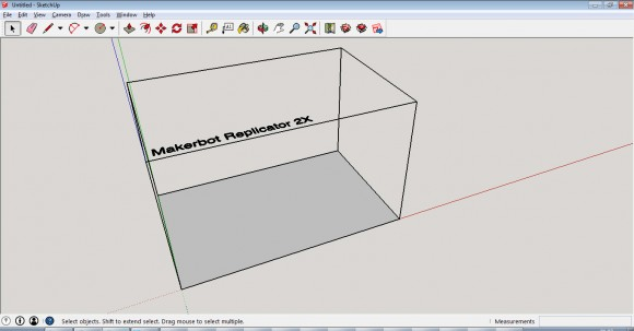sketchup-make-3d-printing-template