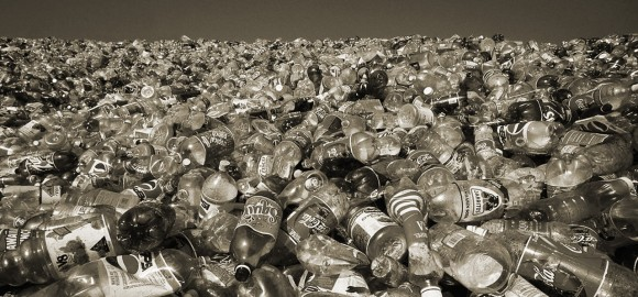 plastics-recycled-bottles