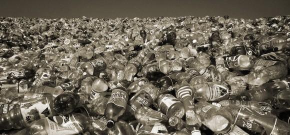 plastics-recycled-bottles