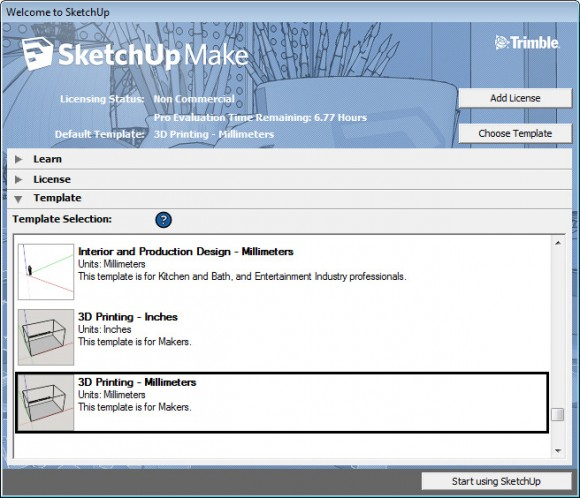 sketchup-make-welcome-screen