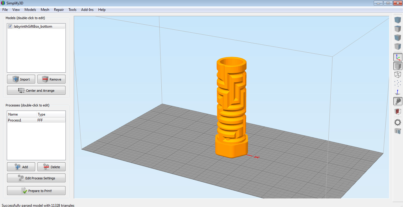Simplify3d software 3d printing blog for Miglior programma grafica 3d