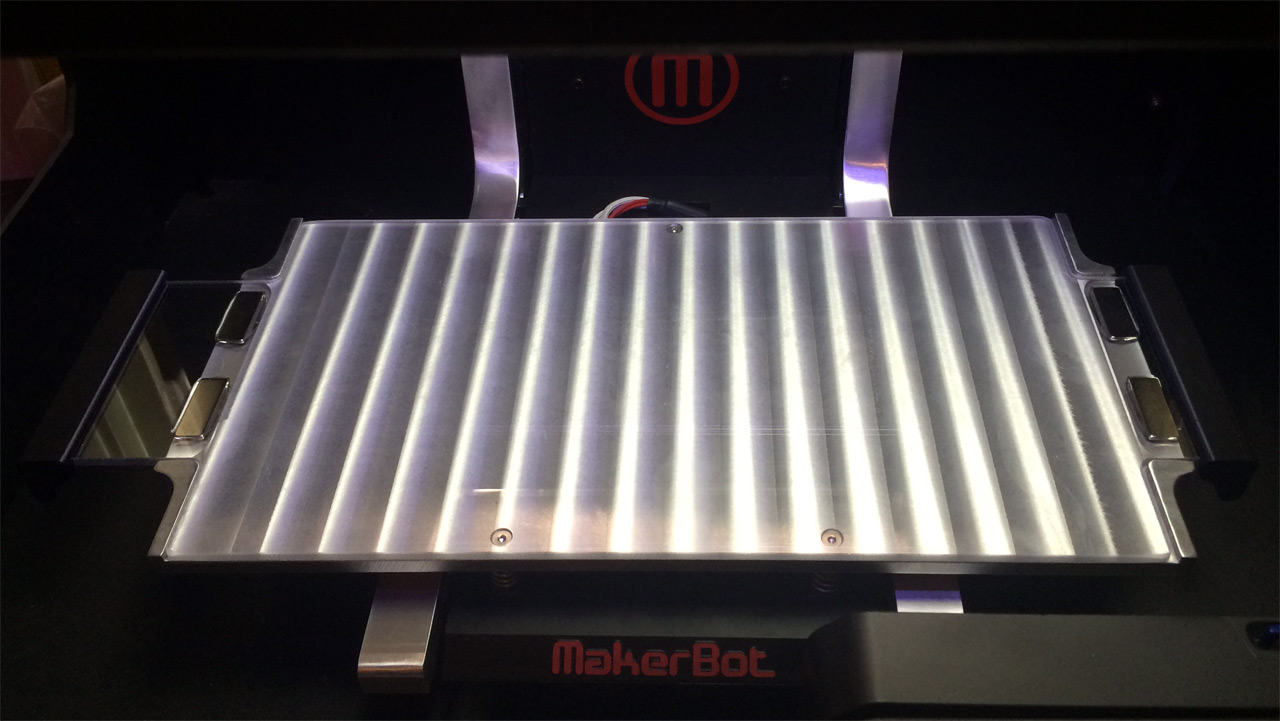 Makerbot  Heated Build Plate Upgrade